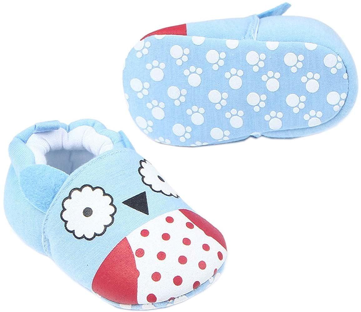 0-1 Year bettyhome Cotton Unisex Baby Newborn Woodpecker Pattern Soft Sole Infant Toddler Prewalker Sneakers