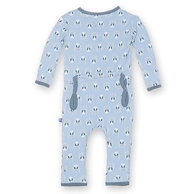 4ee3506ac7ef Amazon.com  KicKee Pants Baby-boys Print Coverall  Infant And ...