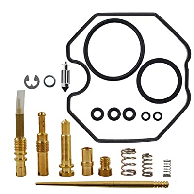 WFLNHB New Carb Rebuild Kit Fit for 2006-2014 Honda Recon 250 2x4 & 2x4 ES TRX250TE 250TM: Garden & Outdoor