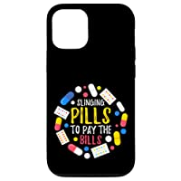 iPhone 12/12 Pro Funny Pharmacist Tech Slinging Pills to Pay the Bills Case