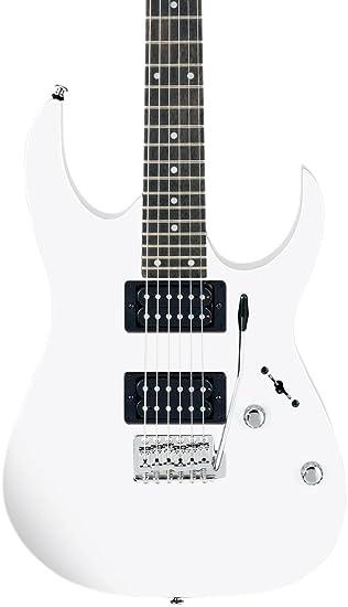 Ibanez Gio grg20z - Guitarra eléctrica, color blanco: Amazon.es: Instrumentos musicales