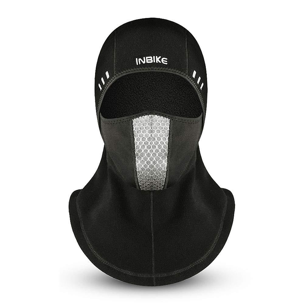 Suxman Pasamontañas Moto Invierño Impermeable, Balaclava Termico Forro Polar, Máscara Capucha Pasamontaña para Ciclismo