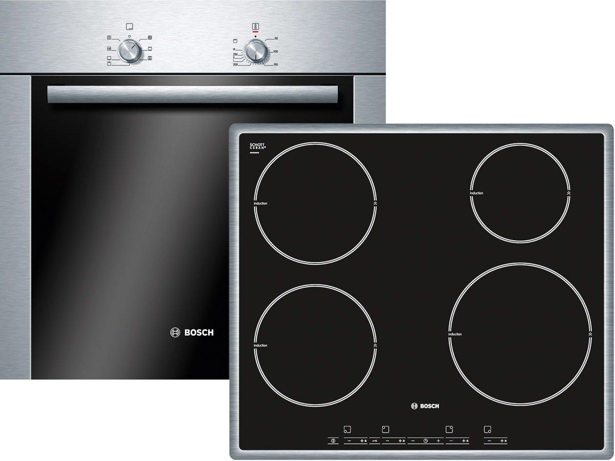 Bosch hbd104 C50 Juego del Horno hba20b250 + Inducción ...