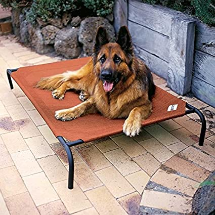 Gale Pacific Coolaroo Elevated Dog Bed - with Knitted Fabric