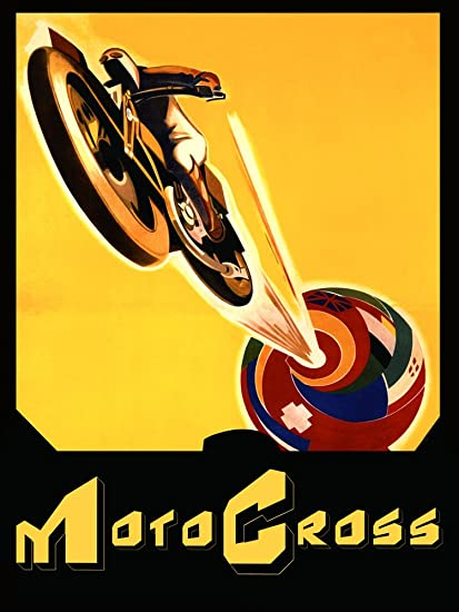 amazon com world motocross motorcycle bike awesome sport 30 x 40