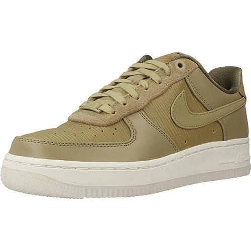 ff488911f90ac Nike Zapatillas Air Force 1 Lux Olive Mu 39 Verde  Amazon.es  Zapatos y  complementos