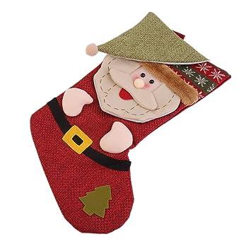 Delicacydex Divertido diseño Árbol de Navidad Bolsa de Almacenamiento de Regalos para Dulces Accesorios Decorativos para