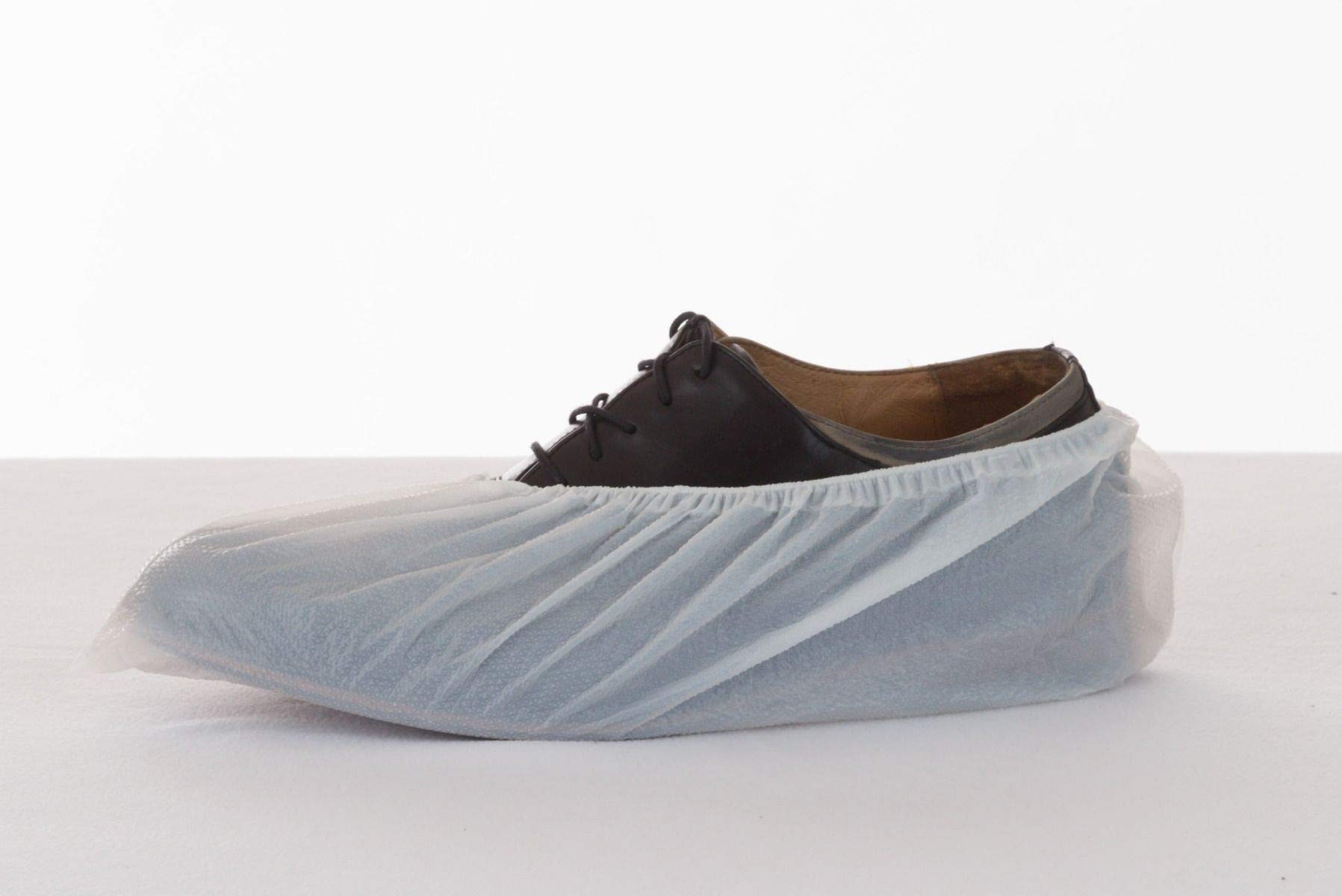 Enviroguard CPE Shoe Cover, Disposable, White, Universal (Case of 1000)