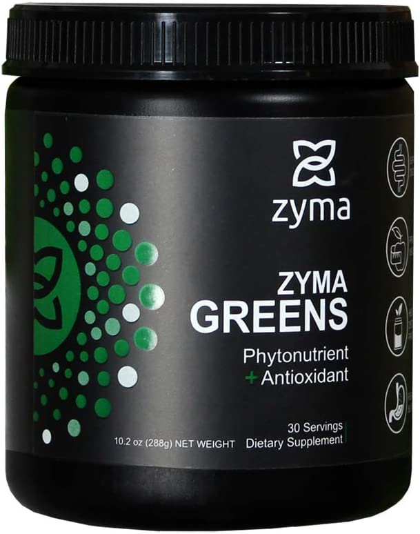 ZYMA Greens Daily Superfoods in One Scoop. Packed with Superfoods, Fiber, Probiotics and Digestive Enzymes