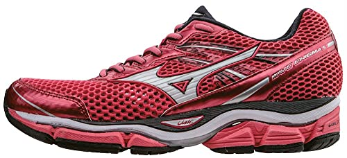 Mizuno Wave Enigma 5 Wos - Zapatillas de running Mujer, CalypsoCoral/White/DarkShadow