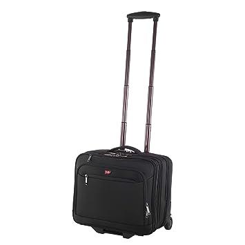 "Pilotenkoffer Trolley Koffer mit Rollen Business 17/"" Zoll Laptop-Fach Handgepäck"