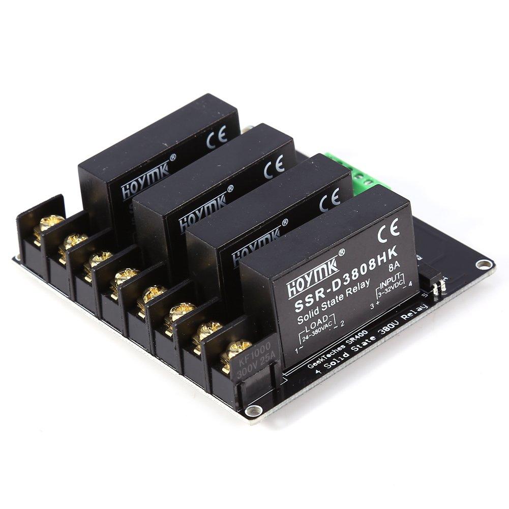 Module de Relais SSR 380V 8A 4 Canaux pour Arduino