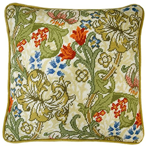 Golden Lily Tapestry Panel ()