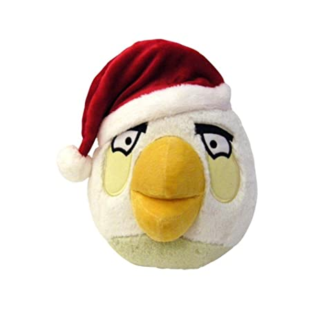 angry birds 5 limited edition christmas plush white bird - Christmas Angry Birds