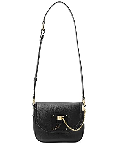 2b959ccee7e6 MICHAEL Michael Kors James Medium Leather Saddlebag  Handbags  Amazon.com