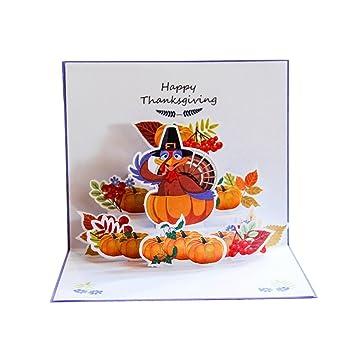 BESTOYARD Gracias Pop-Up Tarjeta 3D Cherry Blossom Tarjeta ...
