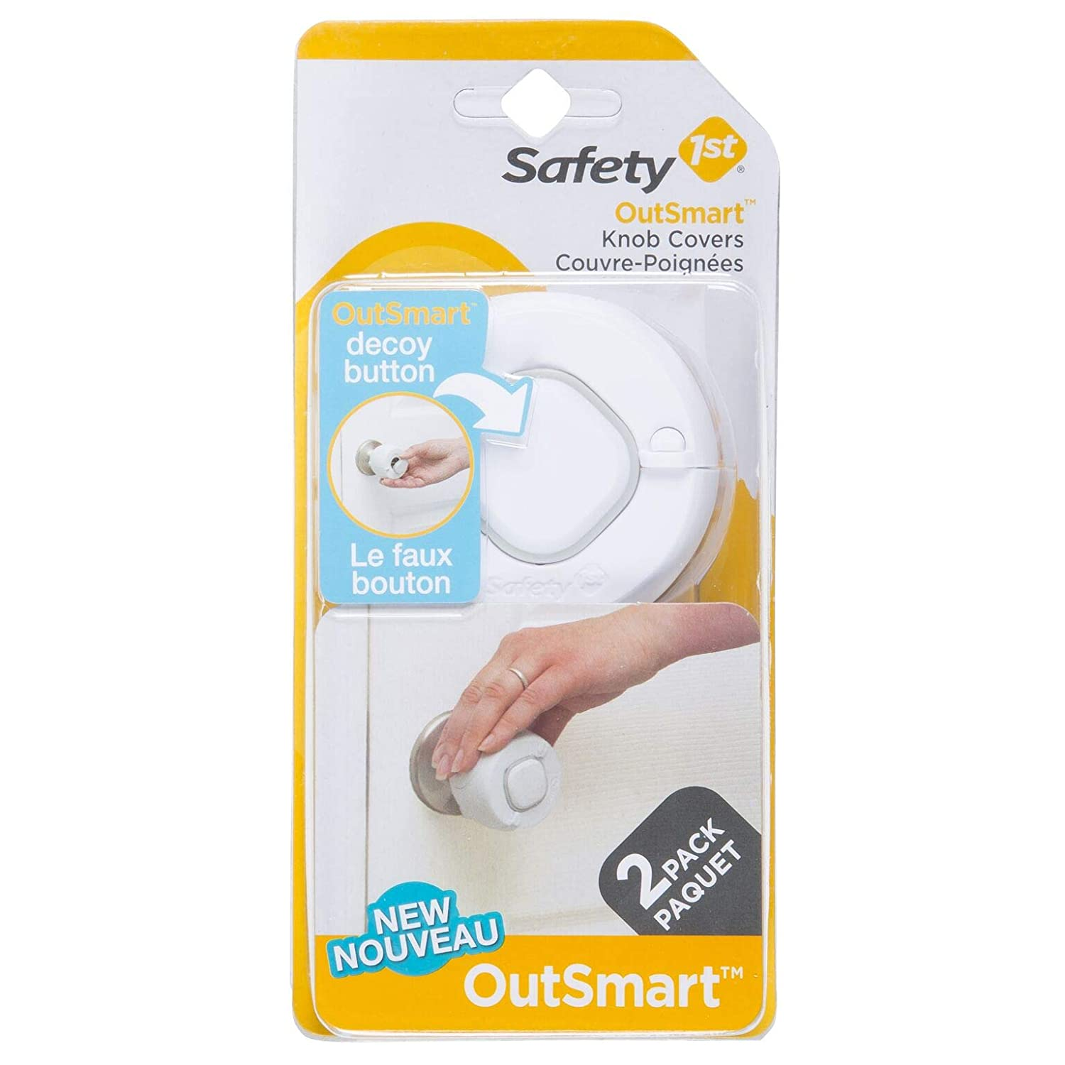 Safety 1st Secure Grip Door Knob Covers 2-Pack