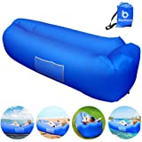 DAOXU Inflatable Lounger Outdoor Sofa for Camping Hiking Travelling Swimming Pool Portable Lazy Lounger Inflatable Sofa Couch Beach Waterproof Air Lounger with Thicker Fabric Backyard