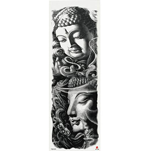 7pcs pieza tatuaje patrón de reloj de arena diosa falsa tatuajes ...