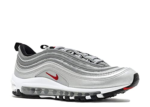 super popular f3fa7 abd8a Nike Air Max 97  Silver Bullet  QS (GS) Size 4y (or