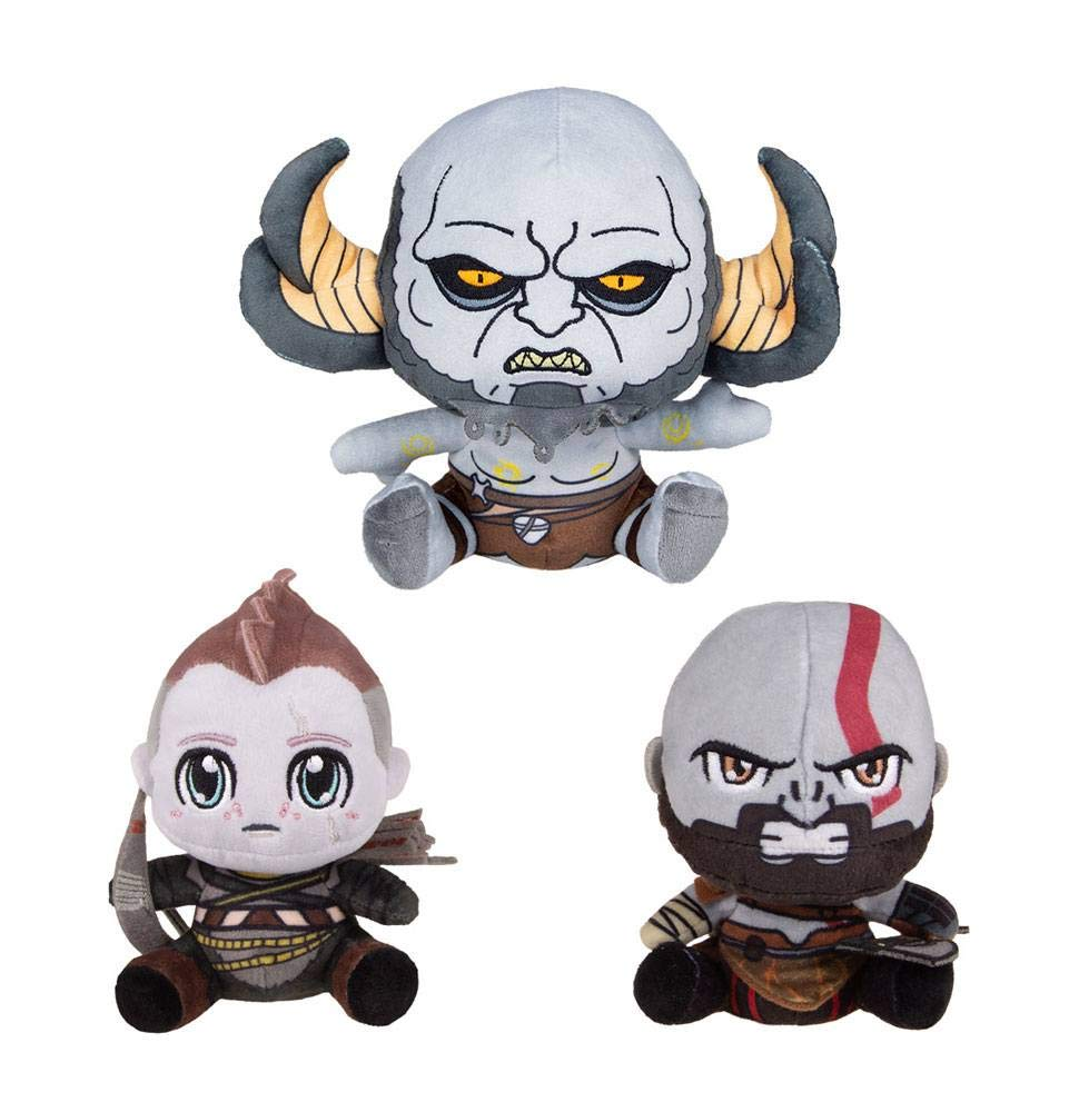 Gaya Entertainment God of War Stubbins Plush Figures 3-Pack 10-15 cm Peluches by Gaya Entertainment