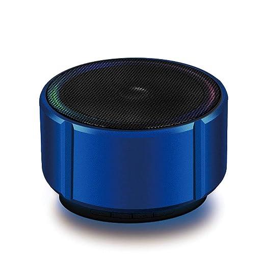 Anjuley - Mini Altavoz portátil Bluetooth con micrófono FM ...