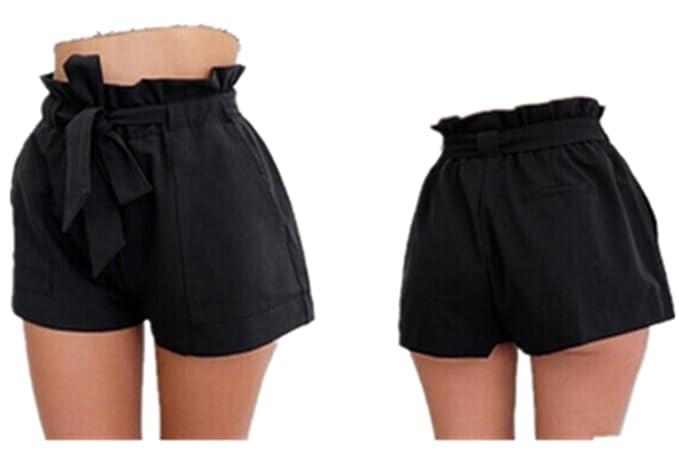 e2f94bb58f Jwhui Hot Fashion Women Lady Sexy Shorts Summer Casual Shorts High Waist  Short Beach Bow Shorts Trousers at Amazon Women's Clothing store: