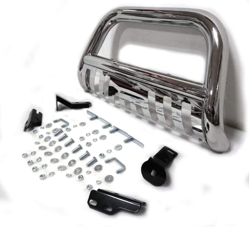 Bull Bar Fit For 04-08 Ford F150 Front Bumper Grill Guard 3 Push Bull Bar for 07-14 Lincoln Navigator Chrome