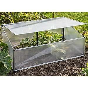 MultiStore Mini semillero 100x 60x 40cm aluminio/plástico/Policarbonato Invernadero Invernadero Invernadero