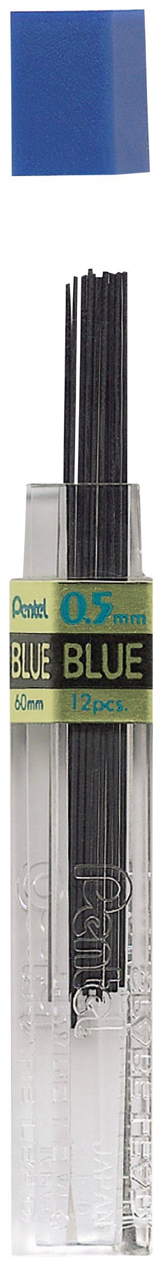 Pentel 12 Minas (1 Tubo) 0.5mm Azul