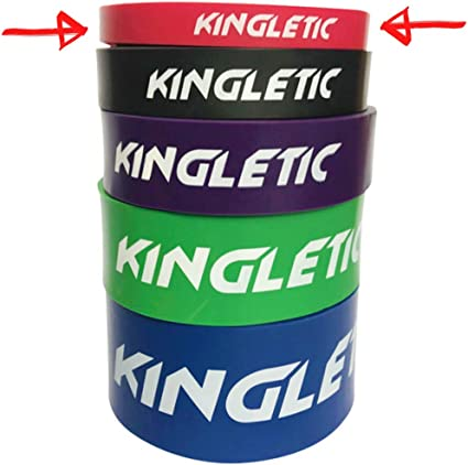 Crossfit en latex naturel KINGLETIC/® Loop Bands /Élastiques de R/ésistance pour Gym eBook Powerlifting