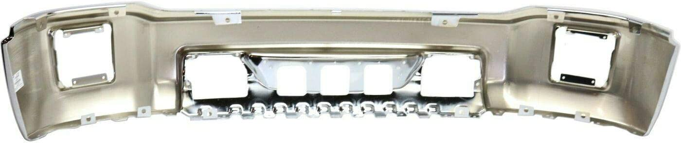 Make Auto Parts Manufacturing Front Bumper Chromed Steel For GMC Sierra 1500 Denali 2014 2015 14 15 GM1002848