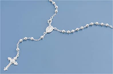 Glitzs Jewels 925 Sterling Silver Necklace Jewelry Gift for Women and Girls Italian Chain, Curb 250