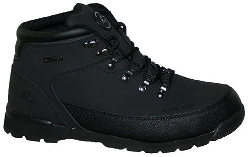 Auda - Calzado de protección de Piel para hombre, color Negro, talla 41