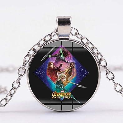 TUDUDU Marvel Vengadores Infinity Guerra Collar Super Héroes ...
