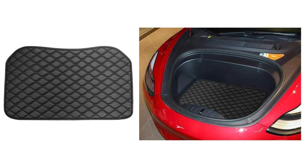 Topfit Kofferraummatte Gep/äckraumschutz Kofferraumschutz Schwarz, R/ücksitzabdeckung R/ückenlehnenschutz-Innenschuh f/ür Modell 3