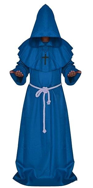 Disfraz de Halloween YOGLY Escudo Capa con Capucha Robe ...