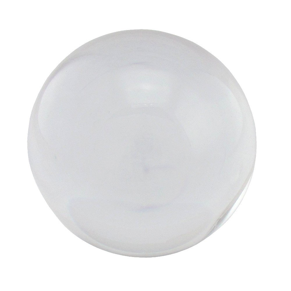 flevado Boule en verre décorative Transparent 8 transparent Kabana