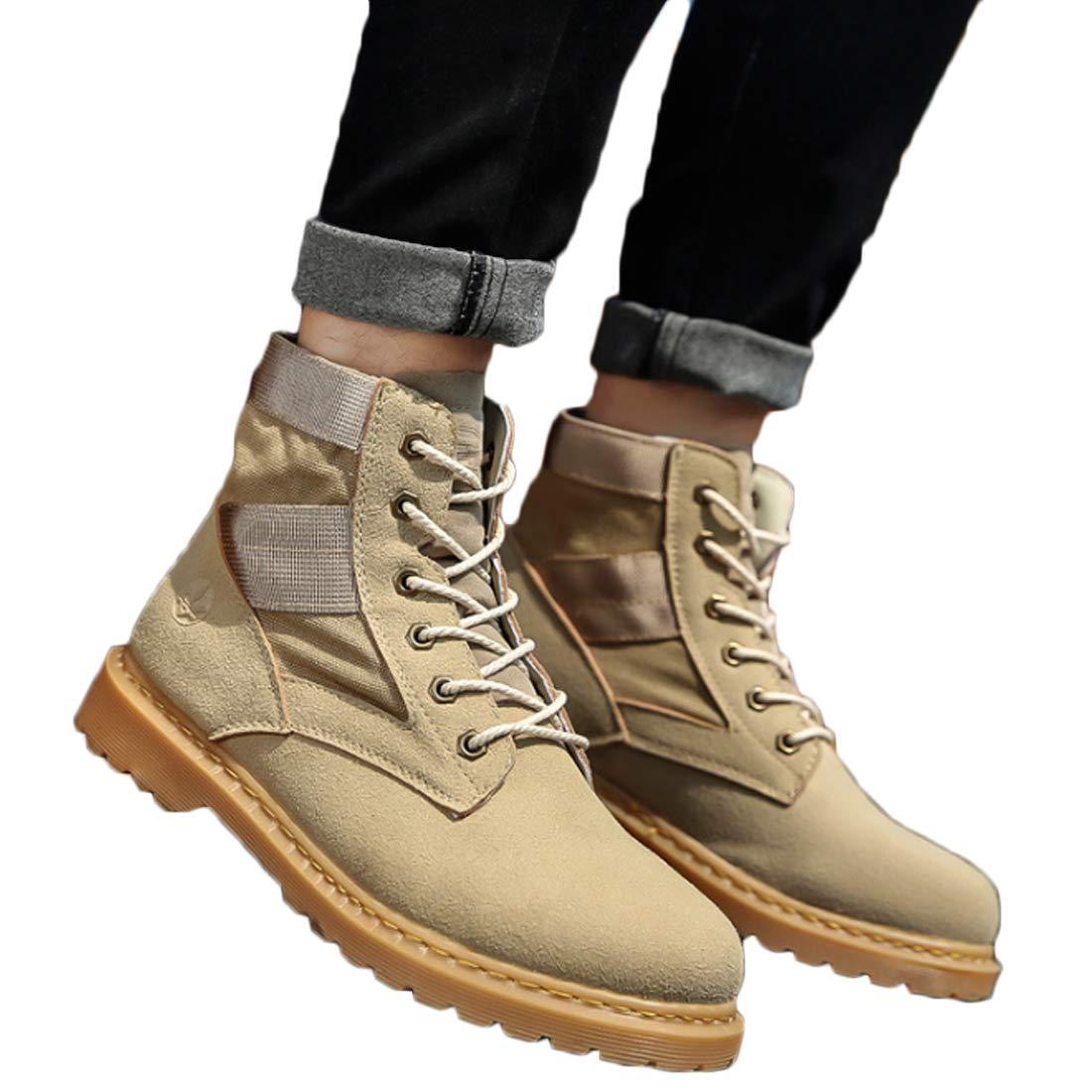Aiweijia Sneakers da Uomo con Cuciture da Uomo Scarpe Casual