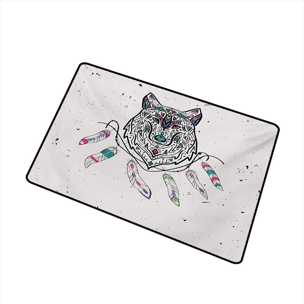 Amazon com : duommhome Welcome Door mat Tribal Wild and Free