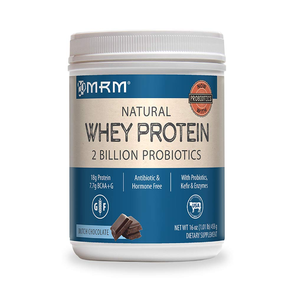 MRM All Natural Whey Protein Powder – 2 lbs – Dutch Chocolate