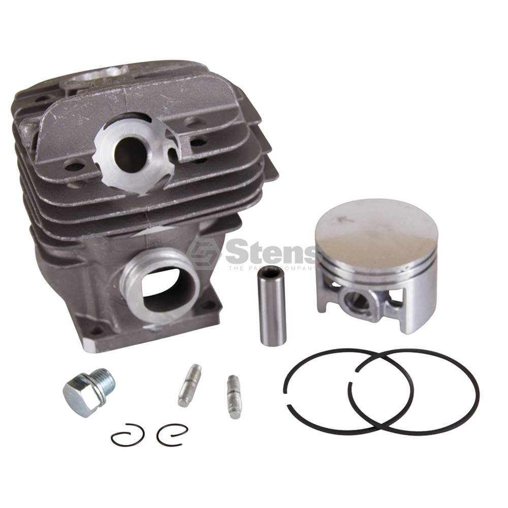 Stens 632-542 Cylinder Assembly, Bore: 44.7 mm, Includes: Piston, ring, pin and clips, Not compatible with greater than 10% ethanol fuel