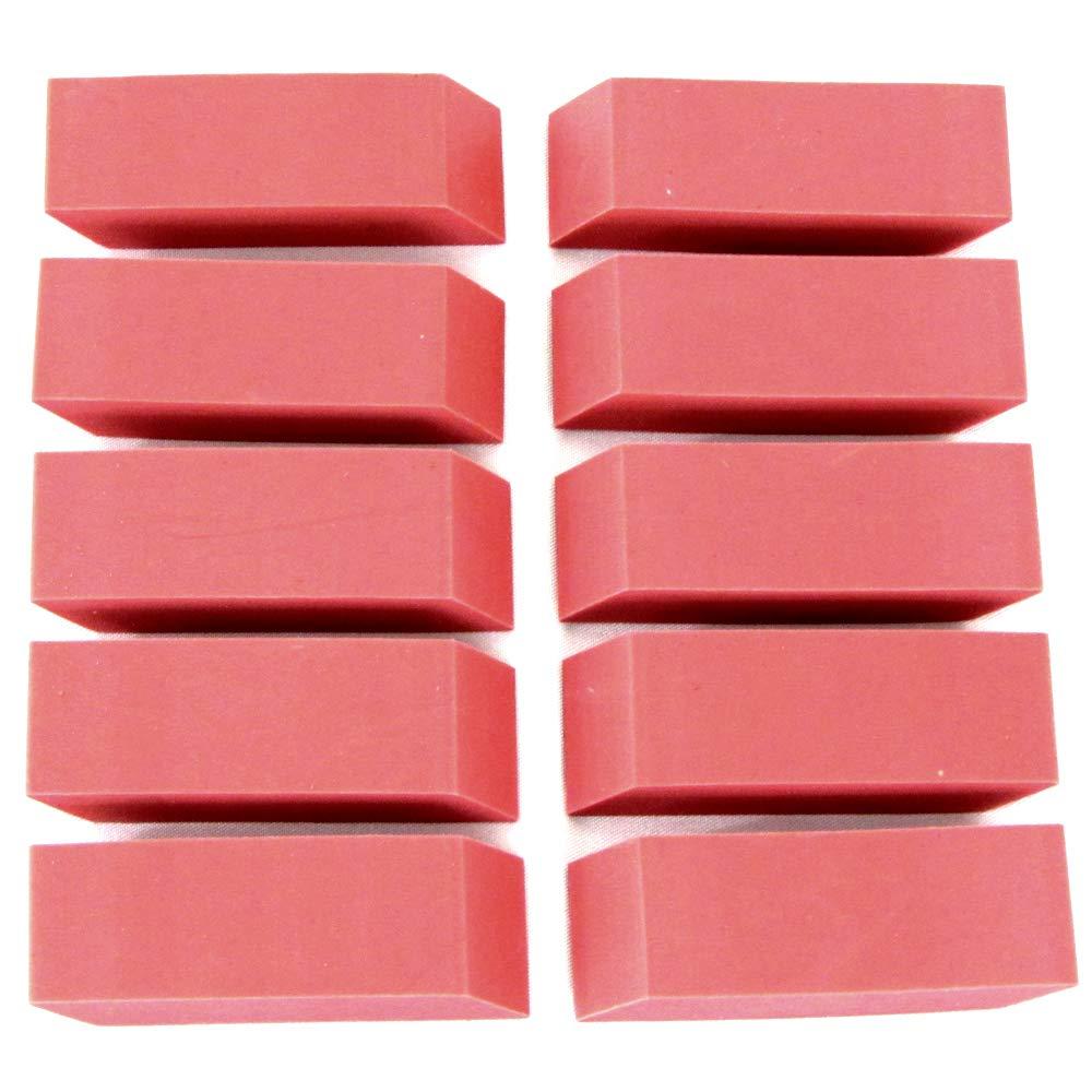 Pink erasers (Case of 500)