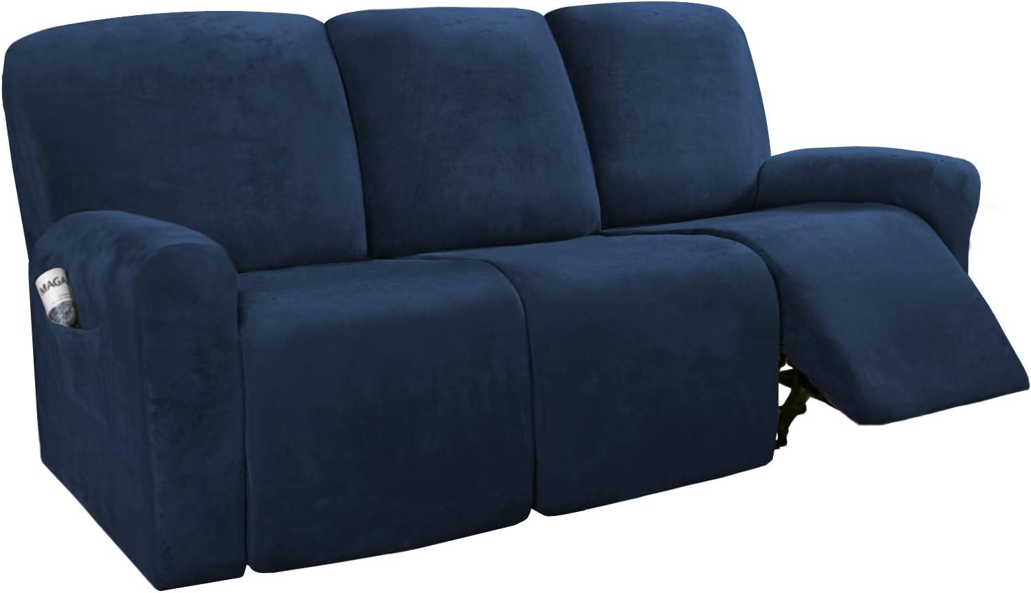 614niWAuZNL. AC SL1500 - Best Slipcovers For Leather Sofas and Couches (Non-Slip) - ChairPicks