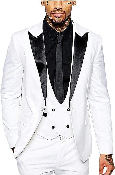 White 1Button Tuxedo Coat Slim Fit Men/'s Suit 38r 40r 42r 44r 46r 46l 48l Custom