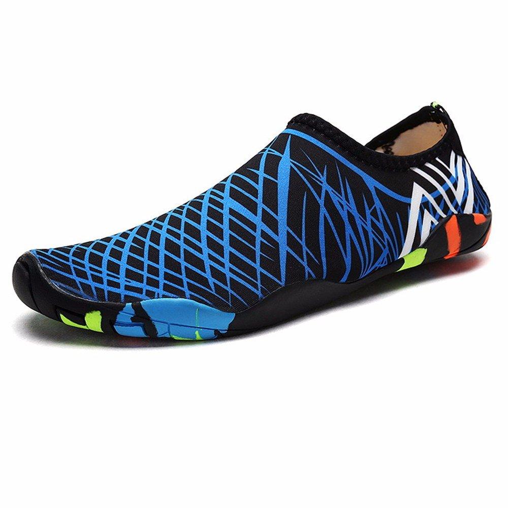 ADLFJGL Strand Tauchen Schuhe Schuhe Für Männer Und Frauen Barfußschuhe Socken Strand Weichen Schuhen Laufband Schwimmen Schuhe Waten Upstream Schuhe E 44 / 45 Wasserschuhe IU3DN