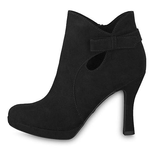 Tamaris Damen 1 1 25306 32 001 001 32 Stiefeletten  Amazon   Schuhe ... 1aef09