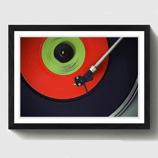Big Box Art Caja Grande Arte Tocadiscos Record Vinilo Impresión ...