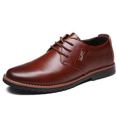 Loisirs De Mode Chaussures En Cuir Pour Homme noir dl82N