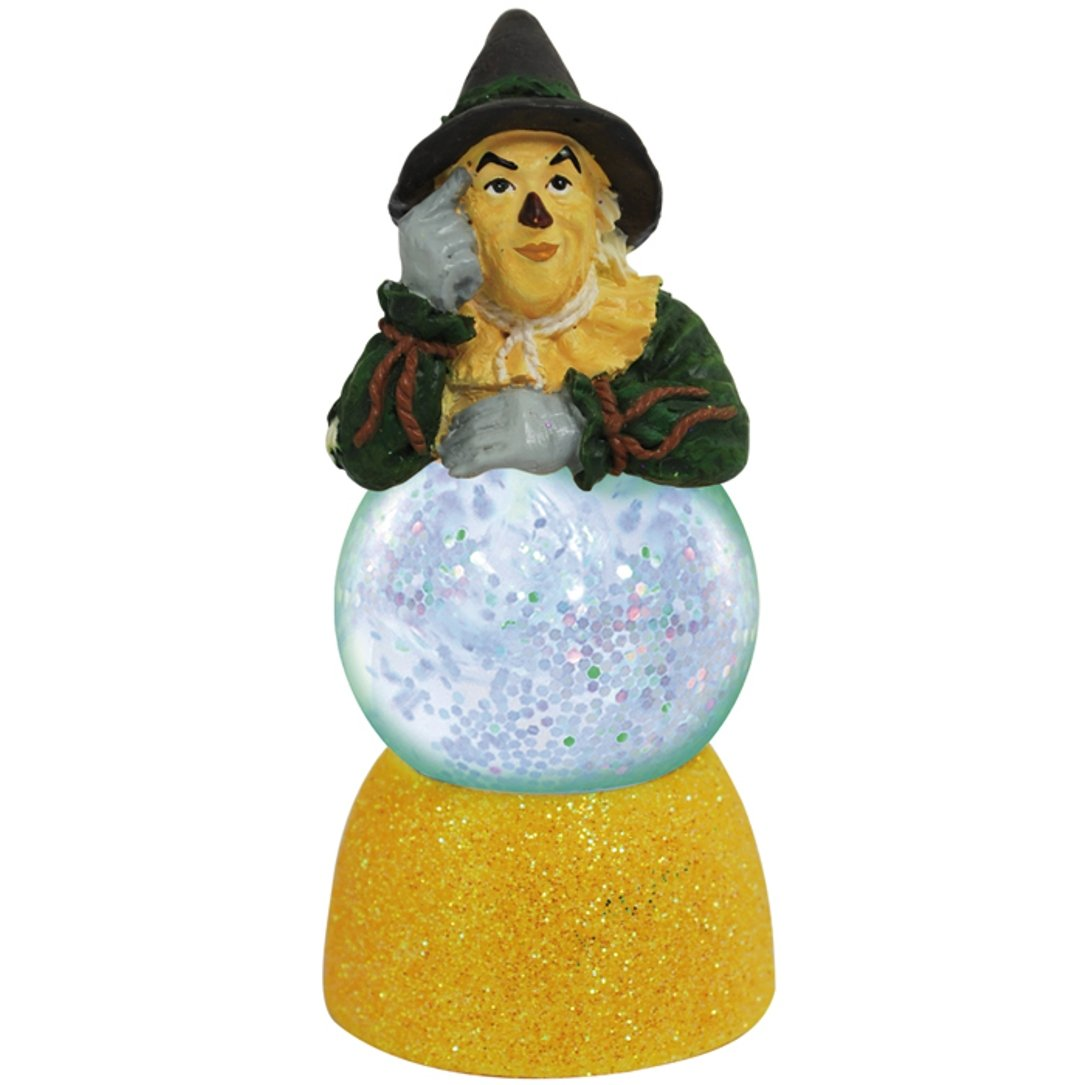 Westland Giftware Sparkler Water Globe Figurine, 35mm, Wizard of Oz Scarecrow